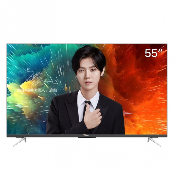 LED55D8 55吋 全屋IoT声控  AI智慧屏电视
