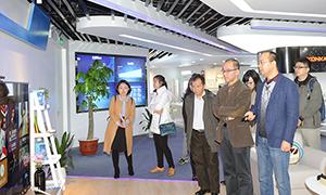工信部电子信息司副司长乔跃山一行到访康佳