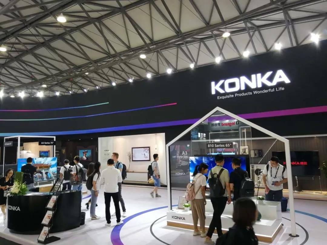 康佳携全线产品亮相CES Asia 2019 实力演绎未来家居生活
