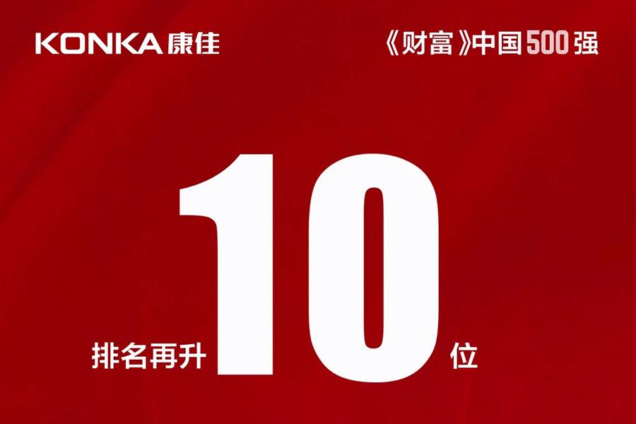 2020《财富》中国500强发榜,康佳排名再创新高