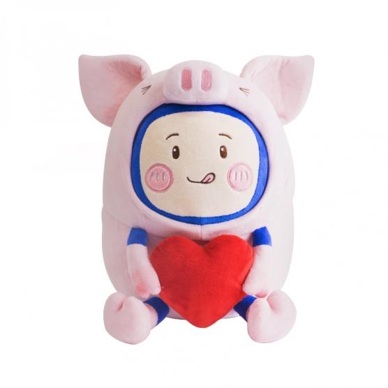 """SUPER KIMI""""猪""""事大吉毛绒公仔"""